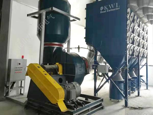 爱发科巢湖工厂集尘系统远程PLC控制箱案例