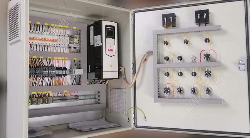 孝义2*350MW煤发电工程挂壁式ABB变频控制箱