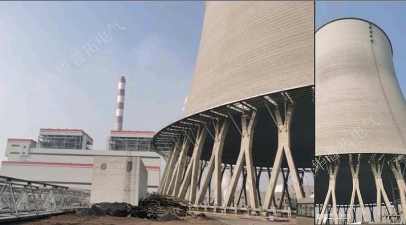 2019年12月份晋能孝义2*350MW低热值煤发电工程施工现场图