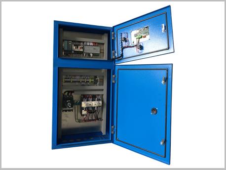 上海空压机PLC控制柜案例