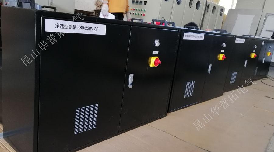 变频器控制柜实际生产图
