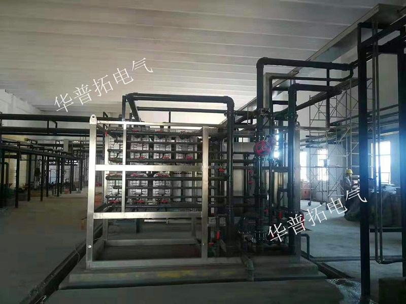 华普拓控制柜助力红马科技工业废水处理项目