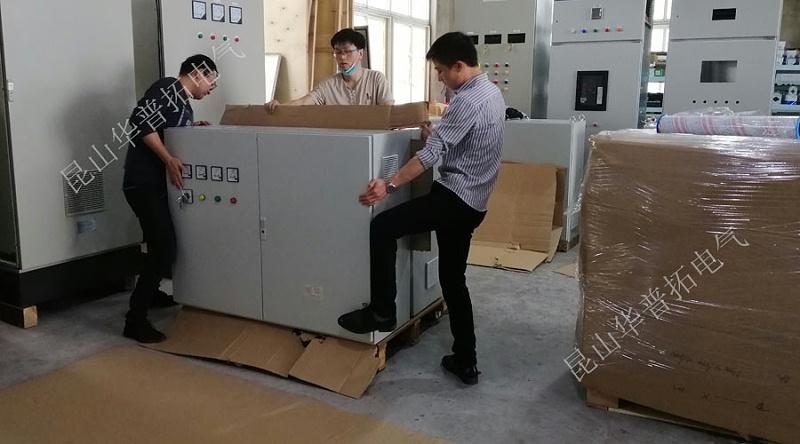 配电箱打包出货发往山东