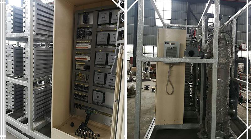 9只电源柜安装现场