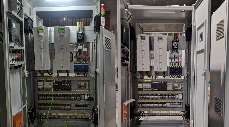 锅炉节能控制柜内部布置图