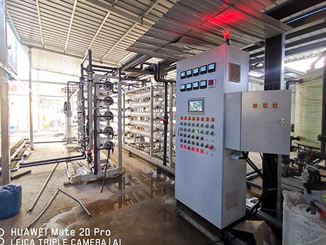 武汉长山口垃圾填埋场二期水处理项目PLC控制柜系统