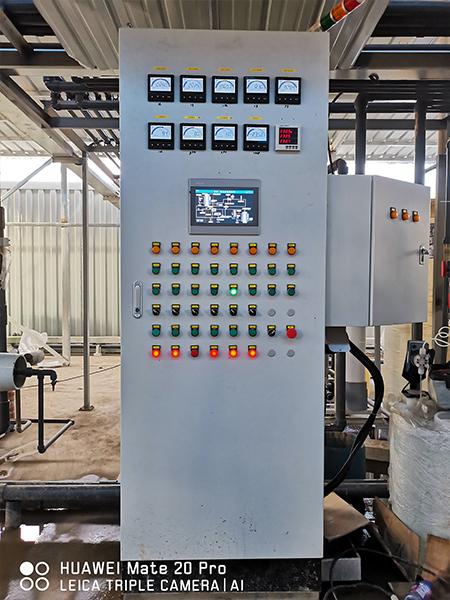武汉长山口垃圾填埋场二期水处理项目PLC控制柜