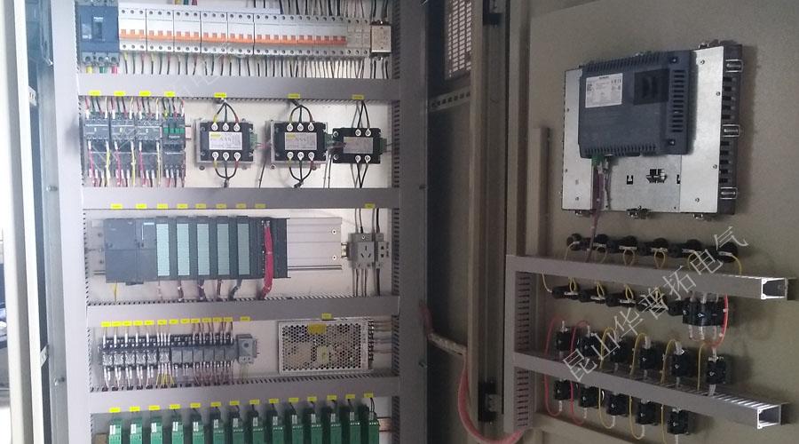 泰州PLC控制柜内元器件