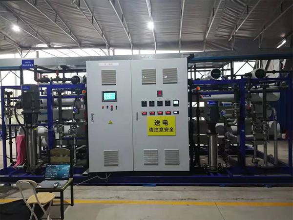 上海老港85吨废水处理PLC变频控制柜每天中试项目