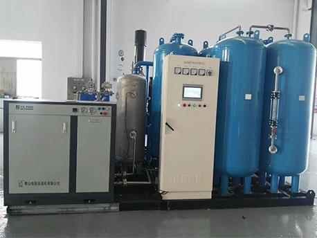 制氧设备plc控制柜运行中