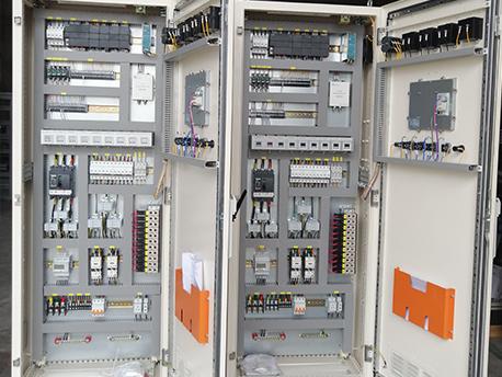 制氧设备plc控制柜内部结构