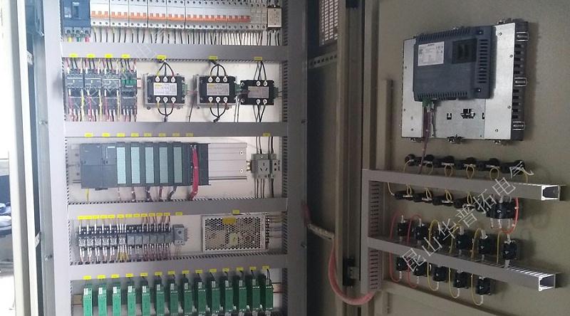 plc程序控制柜内部图