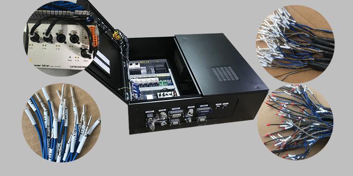 华普拓带你了解:19台带航空插头变频器控制柜安装制作过程
