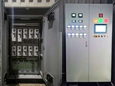 天津海淡水处理系统plc变频控制柜案例