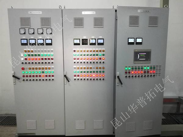 按钮控制PLC控制柜