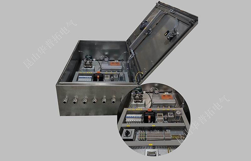 远程按钮操作箱及远程PLC控制箱实拍图