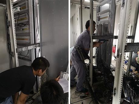 苏州plc电气柜改造清理现场再安装