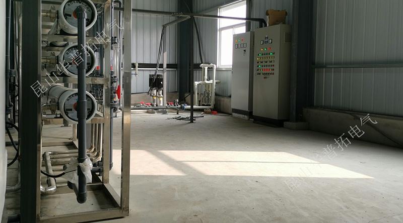 环保节能远程纯水处理控制柜中控系统