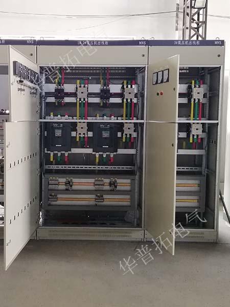 氧压机出线柜内部
