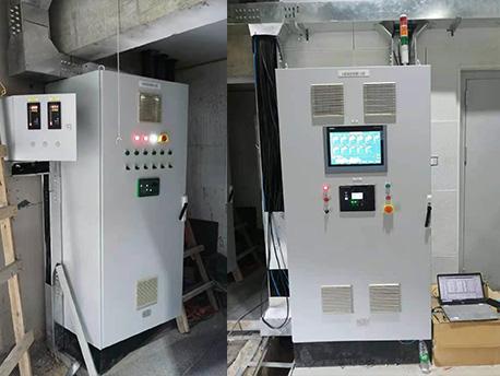 廊坊柴油供油系统电控柜现场调试