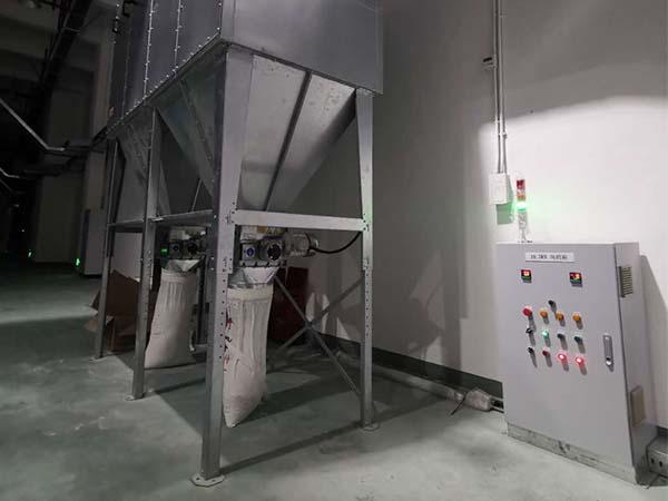 江苏福润达车间除尘系统18.5KW变频风机柜项目案例