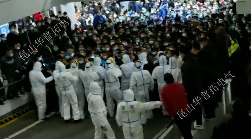 疫情反扑下的浦东机场