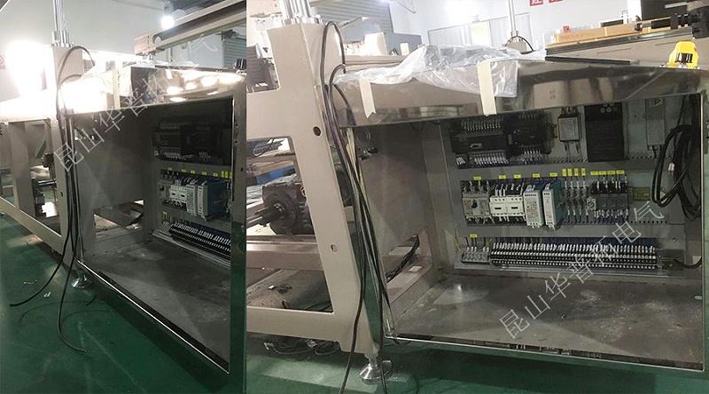 电控板安装于机械设备内部实拍图