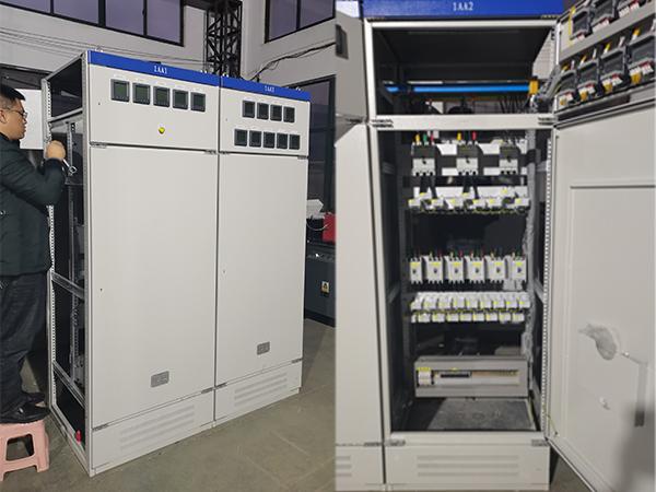 青岛院士港加氢站设备压缩机起动柜系统