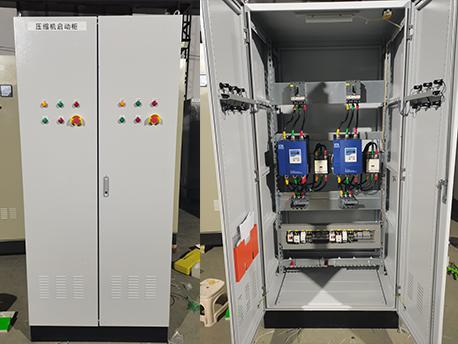 青岛院士港加氢站设备压缩机软启动柜