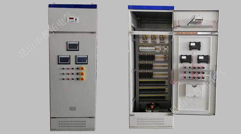三台触摸屏plc控制柜