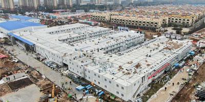 火神山雷神山医院建设彰显中国工业力量