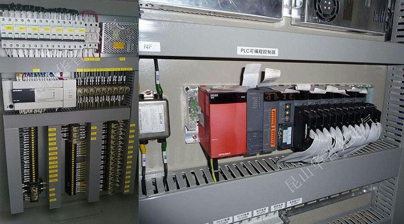 PLC智能控制柜实拍图