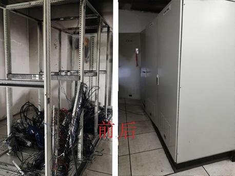苏州plc电气柜改造前后对比图