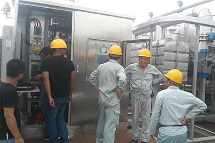上海高砂废气处理RTO焚烧炉案例