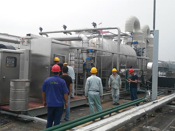 上海高砂废气处理RTO焚烧炉电控柜