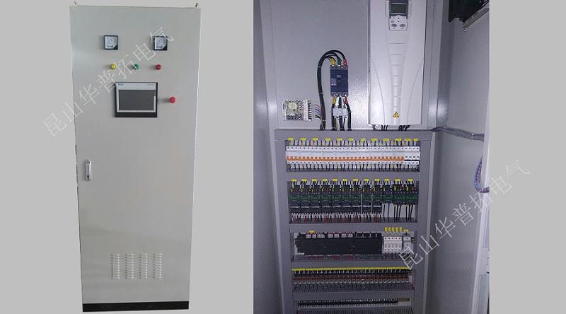一台触摸屏PLC控制柜
