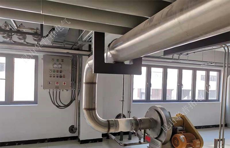 杭州百令制药综合发酵不锈钢除尘防爆柜控制系统