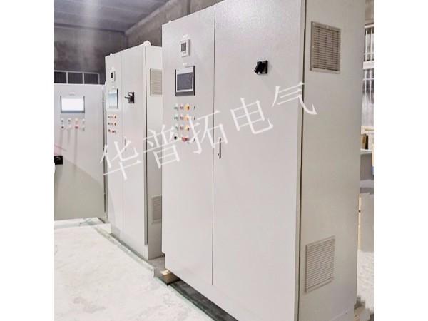 扬州某外企除尘系统配套变频器柜+软启动柜案例