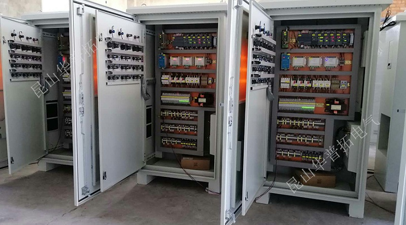 PLC系统柜调试