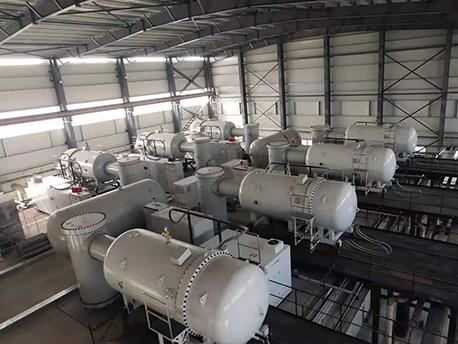 江门市新会冠华针织厂 加速器处理污水项目