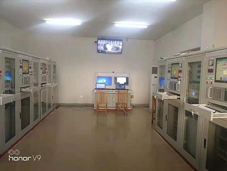 江门市新会冠华针织厂 加速器处理污水项目 中控室
