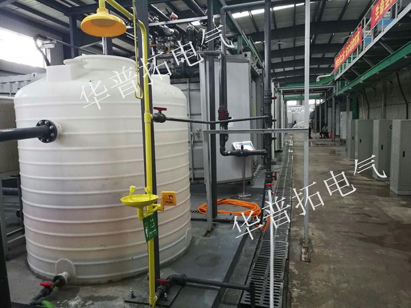 华普拓自主研发的污水处理控制系统