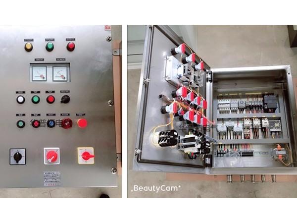 不锈钢除尘防爆控制柜案例
