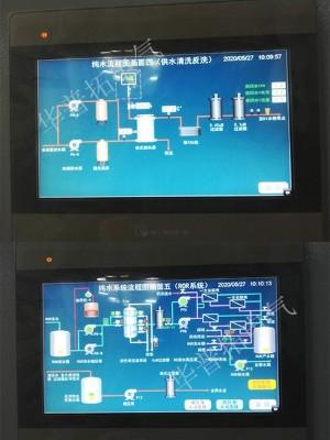 纯水plc自控柜编程画面