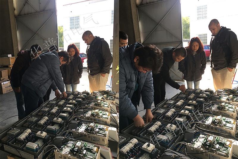 台湾客户39台11KW变频器控制柜