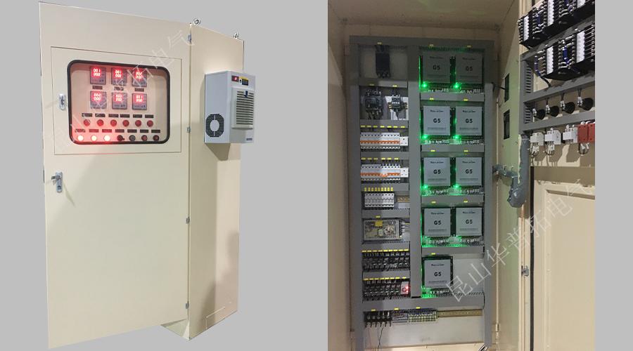 EDI电源柜通电测试中