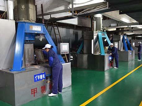 南宁糖业大桥糖厂装包糖粉收集plc系统控制柜案例