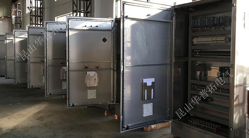 医药制药行业制剂配液设备自动化电气控制柜内部元件