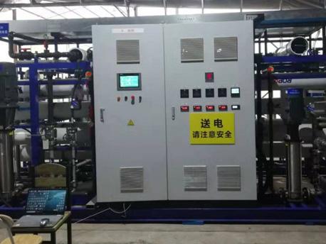 污水处理PLC控制柜 上海85吨污水处理项目PLC控制柜