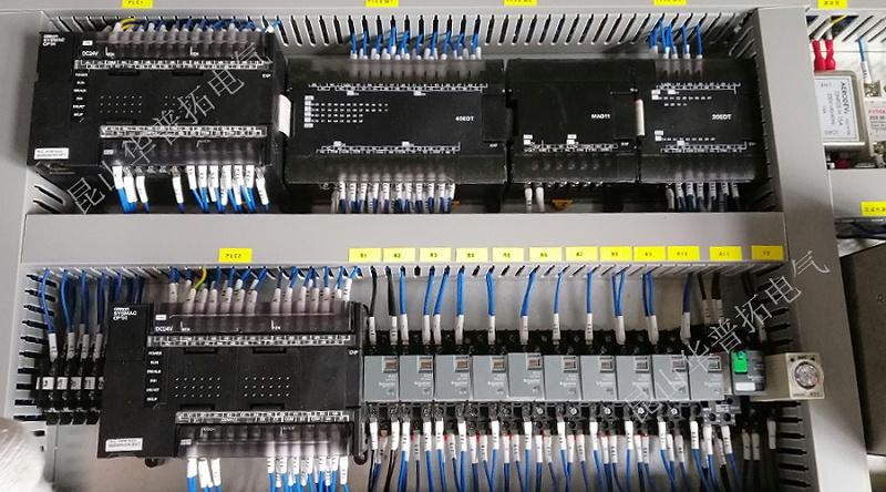 欧姆龙plc模块安装图